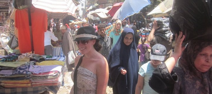 Canadian Girl in Cairo