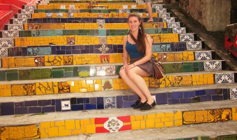 Selarón's Staircase: Rainbow of Tiles From Around the World