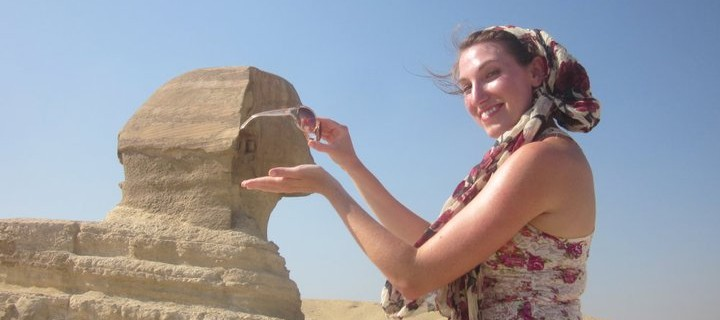 Camel Love & Kisses for the Sphinx