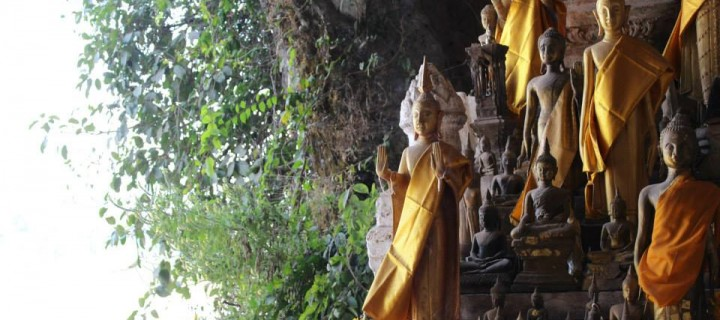 Serenely Smiling Pak Ou Caves