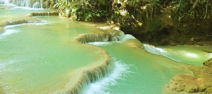 All Is Not So Picture Perfect at the Kuang Si Waterfalls . . .