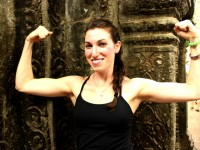 "Lara Croft For The Day At Ta Prohm ""Tomb Raider"" Temple"