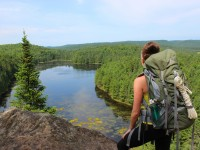 A Trek In The Wild: Highland Backpacking Trail of Algonquin