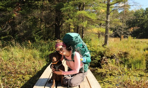 A Trek In The Wild: Eastern Pines Backpacking Trail of Algonquin